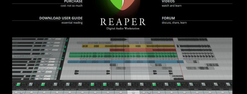 Come esportare tracce separate da Reaper