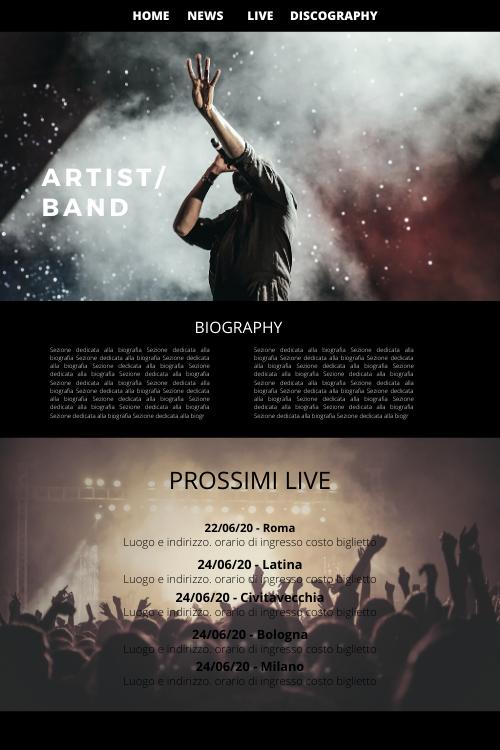 siti web & seo - esempio sito